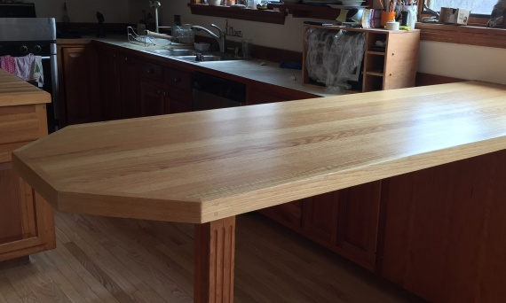<p>Sand and finish bar tops, tables, and butcher blocks.</p>